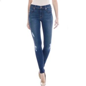 Level 99 Tanya Distressed Skinny Jeans High Rise